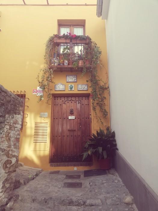 Entrada al Museo Sefardí Granada